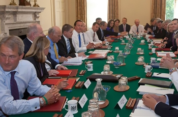 "Is the Cabinet ""too white, too male and too rich""?  [1.5217391304348]"