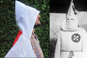 how to make a kkk outfit